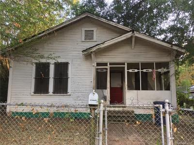 Shreveport LA Single Family Home For Sale: $9,900