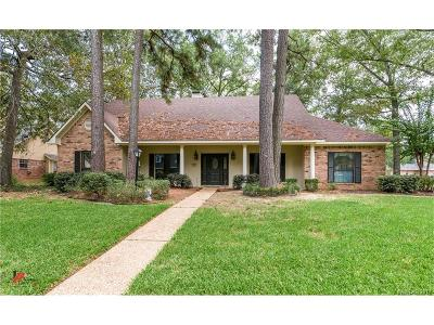 Shreveport Single Family Home For Sale: 10002 Canterbury Drive