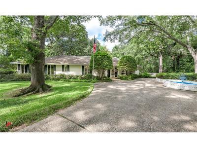Shreveport Single Family Home For Sale: 6004 East Ridge Drive