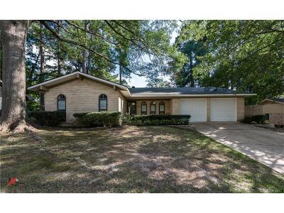 Shreveport LA Single Family Home For Sale: $142,500
