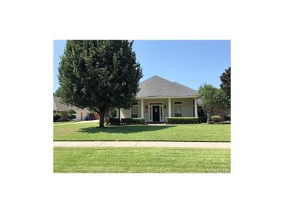 Bossier City Single Family Home For Sale: 1810 Bayou Bend Drive