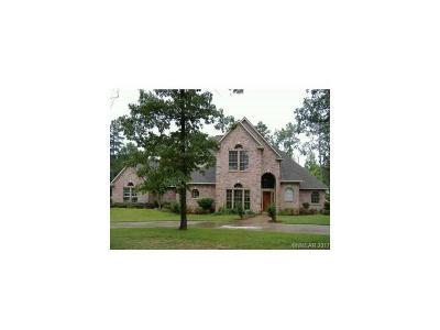 Shreveport Single Family Home For Sale: 6483 Indian Hills Boulevard