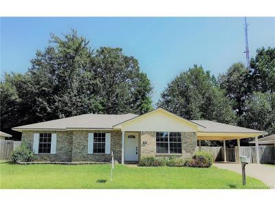Haughton Single Family Home For Sale: 7524 Oaktree Lane