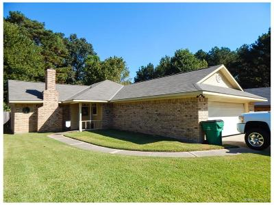 Haughton Single Family Home For Sale: 9017 Hollow Bluff Drive