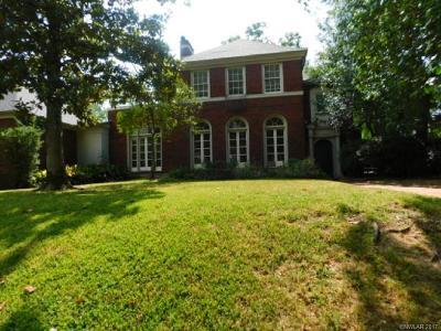 Shreveport Single Family Home For Sale: 815 Ontario Street