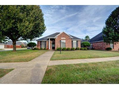 Bossier City Single Family Home For Sale: 6018 Kateland
