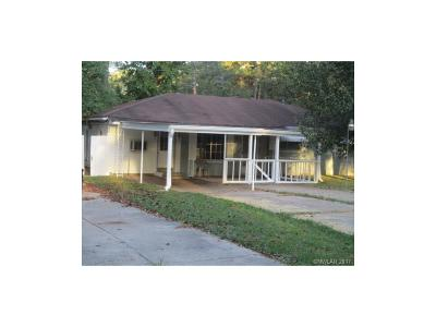 Shreveport LA Single Family Home For Sale: $75,500