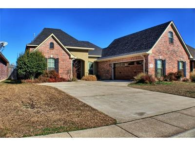 Bossier City Single Family Home For Sale: 515 Falling Water Circle