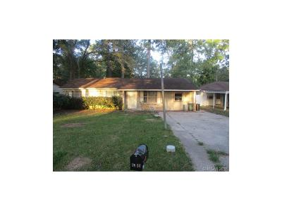 Shreveport LA Single Family Home For Sale: $71,500