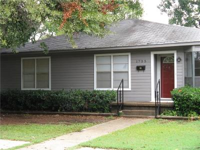 Bossier City Single Family Home For Sale: 1735 Green Street