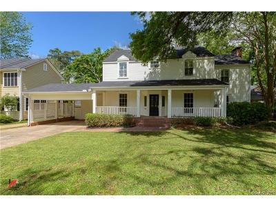 Shreveport LA Single Family Home For Sale: $585,000