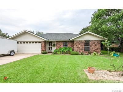 Bossier City Single Family Home For Sale: 2646 Brown Street