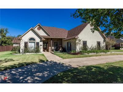 Bossier City LA Single Family Home For Sale: $299,990