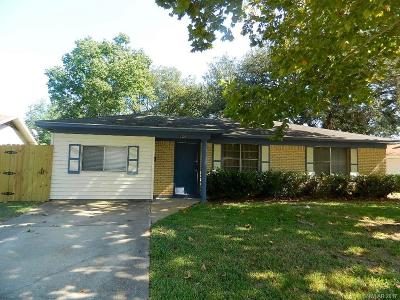 Bossier City Single Family Home For Sale: 1326 Violet