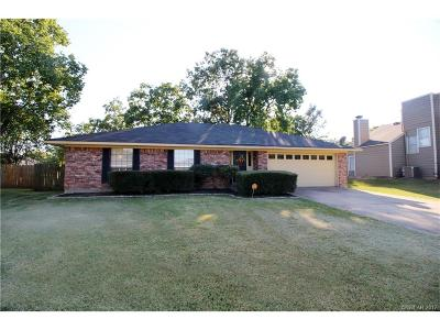 Bossier City Single Family Home For Sale: 432 Highland Court