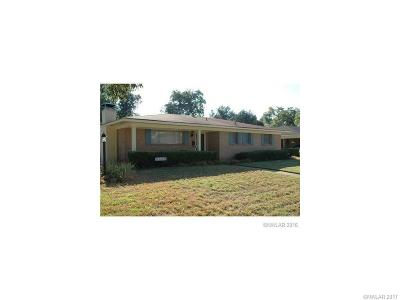Bossier City Single Family Home For Sale: 4101 Parkway Drive