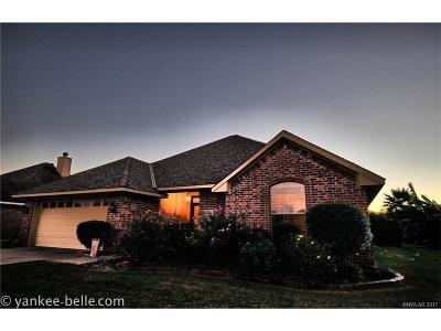 Benton Single Family Home For Sale: 4206 Parkridge Drive