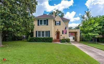 Shreveport Single Family Home For Sale: 739 Wilder Place