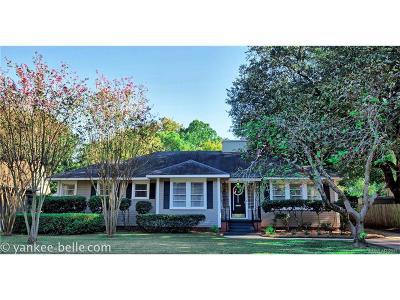 Shreveport LA Single Family Home For Sale: $250,000