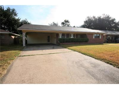 Single Family Home For Sale: 2709 Alvin Lane