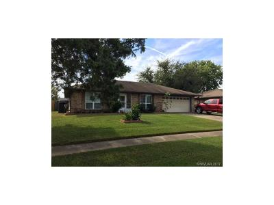 Bossier City Single Family Home For Sale: 5318 Foxglove Drive