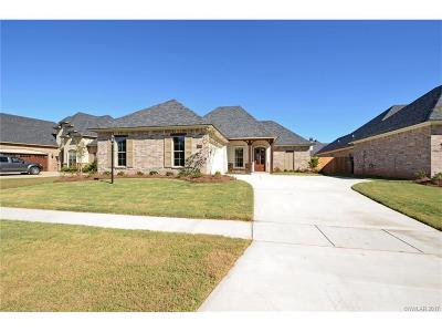 Bossier City Single Family Home For Sale: 5104 Tensas Drive