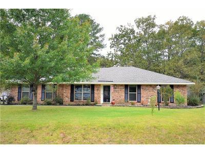Haughton Single Family Home For Sale: 201 Chimney Lane