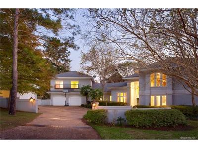 Shreveport Single Family Home Contingent: 11000 Belle Rose Circle