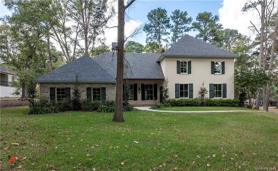 Shreveport Single Family Home For Sale: 604 Oak Hill Drive