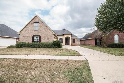 Bossier City Single Family Home For Sale: 6014 Kateland Circle