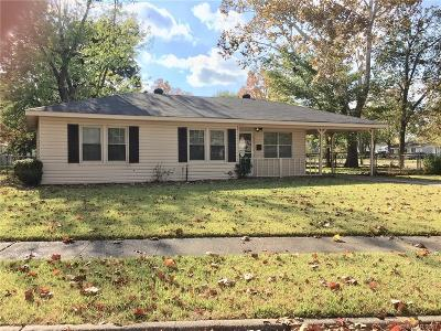 Bossier City Single Family Home For Sale: 1539 James Street
