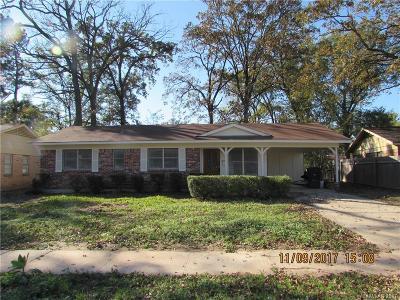 Shreveport Single Family Home For Sale: 8810 Melanie Lane