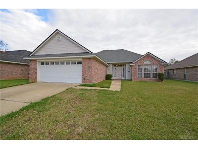 Bossier City Single Family Home For Sale: 2312 Stockwell Road