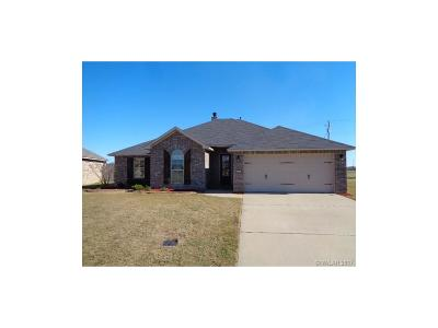 Bossier City Single Family Home For Sale: 2381 Tallgrass Circle