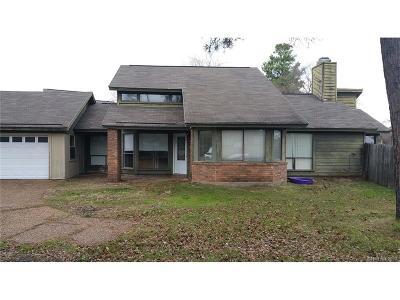 Bossier City Single Family Home For Sale: 1410 Preston Court