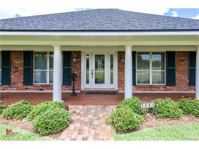 Bossier City Single Family Home For Sale: 2410 Benton Road