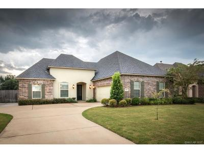 Bossier City Single Family Home For Sale: 1013 Spanish Moss Circle