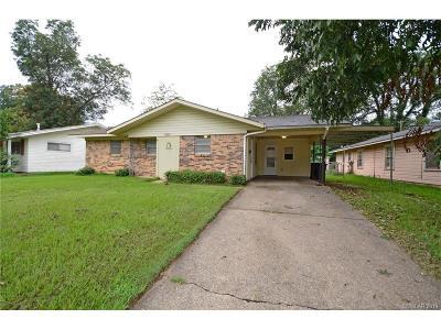 Bossier City Single Family Home For Sale: 4204 Stuart