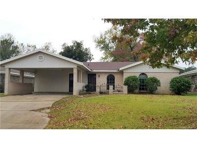 Bossier City Single Family Home For Sale: 2515 McLeod Street