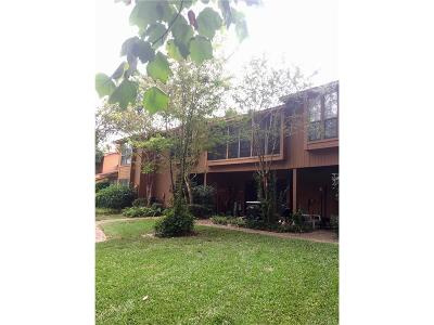 Shreveport Condo/Townhouse For Sale: 3542 Eastlake Drive