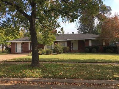Shreveport Single Family Home For Sale: 3302 Surrey Road