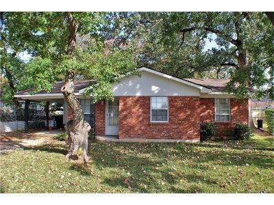 Bossier City Single Family Home For Sale: 1420 Lampkin Street