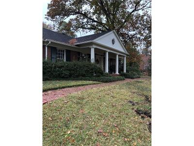 Shreveport Single Family Home For Sale: 4400 Glen Iris Boulevard