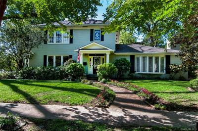 Shreveport Single Family Home For Sale: 601 Slattery Boulevard