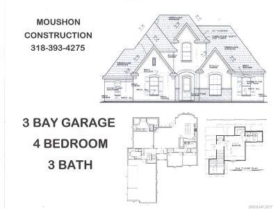 Haughton Single Family Home For Sale: 543 Pebble Drive