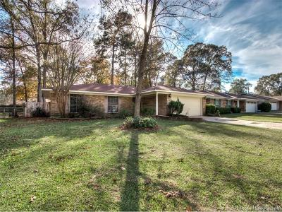 Haughton Single Family Home For Sale: 9018 Watchwood Drive