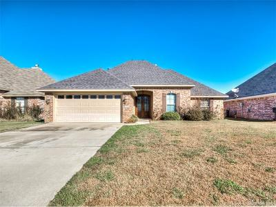 Bossier City Single Family Home For Sale: 5381 Bluebell Drive