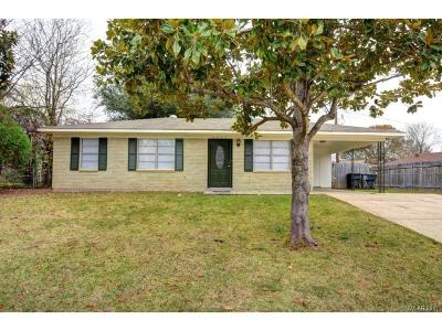 Bossier City LA Single Family Home For Sale: $80,000