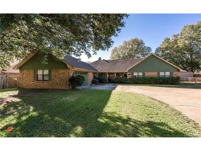 Benton Single Family Home For Sale: 4396 Parkridge Drive