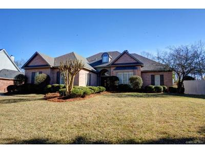 Bossier City Single Family Home For Sale: 5704 Lake Side Drive